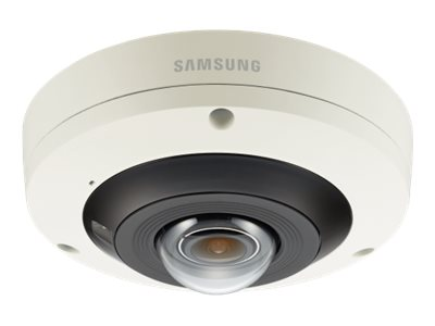 Samsung 4K IR Fisheye Vandal Dome Camera, White, PNF-9010RV