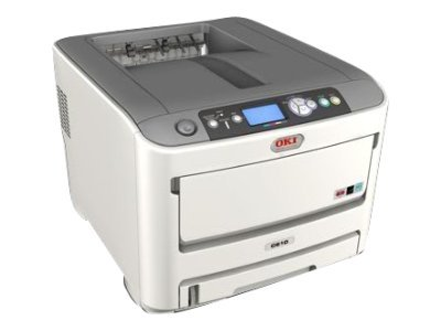 Oki C610cdn Digital Color Printer (Multilingual)