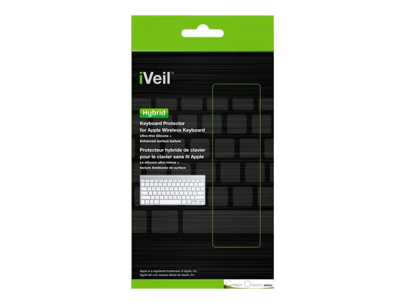 Green Onions Supply Keyboard cover for Apple wireless keyboard, RT-KBHB06, 24748005, Protective & Dust Covers