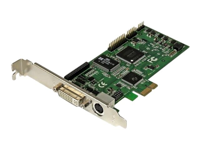 StarTech.com 1080P High-definition HDMI VGA DVI PCIe Capture Card