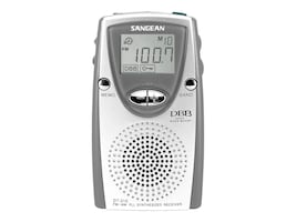 Sangean AM FM Stereo Dig.Tun Pocket Radio, DT-210, 9991314, Portable Stereos