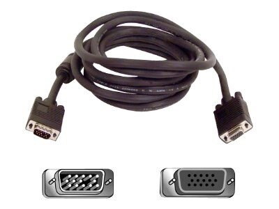 Belkin VGA SVGA Monitor Extension Cable, 10ft
