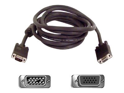 Belkin VGA SVGA Monitor Extension Cable, 10ft, F3H981-10, 142101, Cables