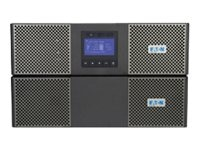 Eaton 9PX 8kVA 7.2kW 208V Online 6U R T UPS Hardwire Input Output (3) L6-30R Power Module EBM MBP, 9PX8K, 15063506, Battery Backup/UPS