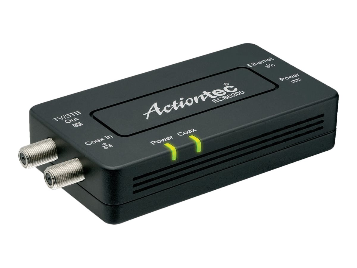 Actiontec Bonded MoCA 2.0 Adapter, ECB6200S02