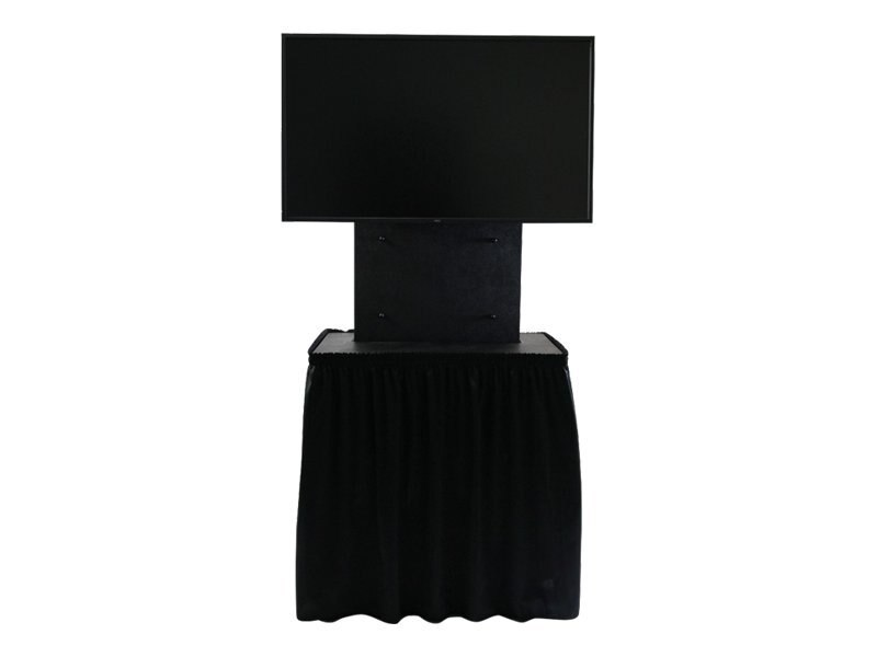 Jelco Drape Kit for ELU-50R RotoLift Shipping and Display Cases, EL-19, 17298229, Monitor & Display Accessories