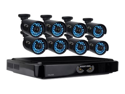 Night Owl 16-Channel Smart HD Video Security System with 2TB HDD and 8x 720p HD Cameras, B-A720-162-8, 19055132, Video Capture Hardware