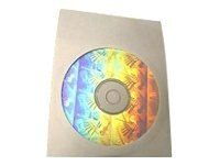 Microboards Paper CD Sleeve with Clear Window (1000-pack), 4767, 7898407, Media Storage Cases
