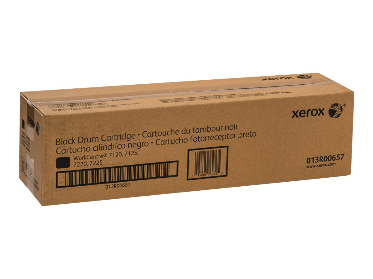 Xerox Black Smart Kit Drum Cartridge for WorkCentre 7120 & 7125, 013R00657, 14043781, Toner and Imaging Components