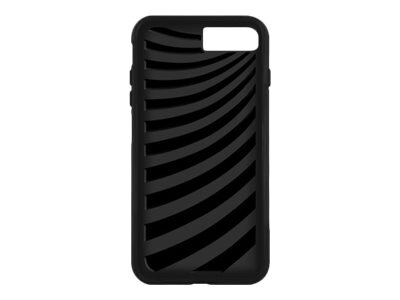 Macally Dual Layer Protective Case w  Kickstand for iPhone 7, Black, KSTANDP7MB