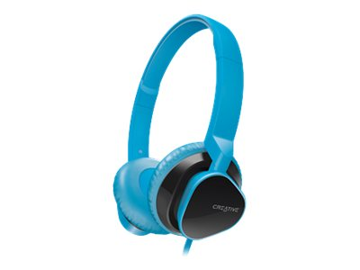 Creative Labs HITZ MA2300 Headset, Blue, 51EF0630AA011, 16146346, Headsets (w/ microphone)