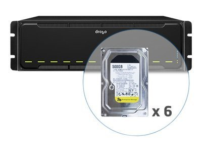 12TB Drobo model B1200i 12-Bay SAN Storage, DR-B1200I-1A21-D06, 13046569, SAN Servers & Arrays