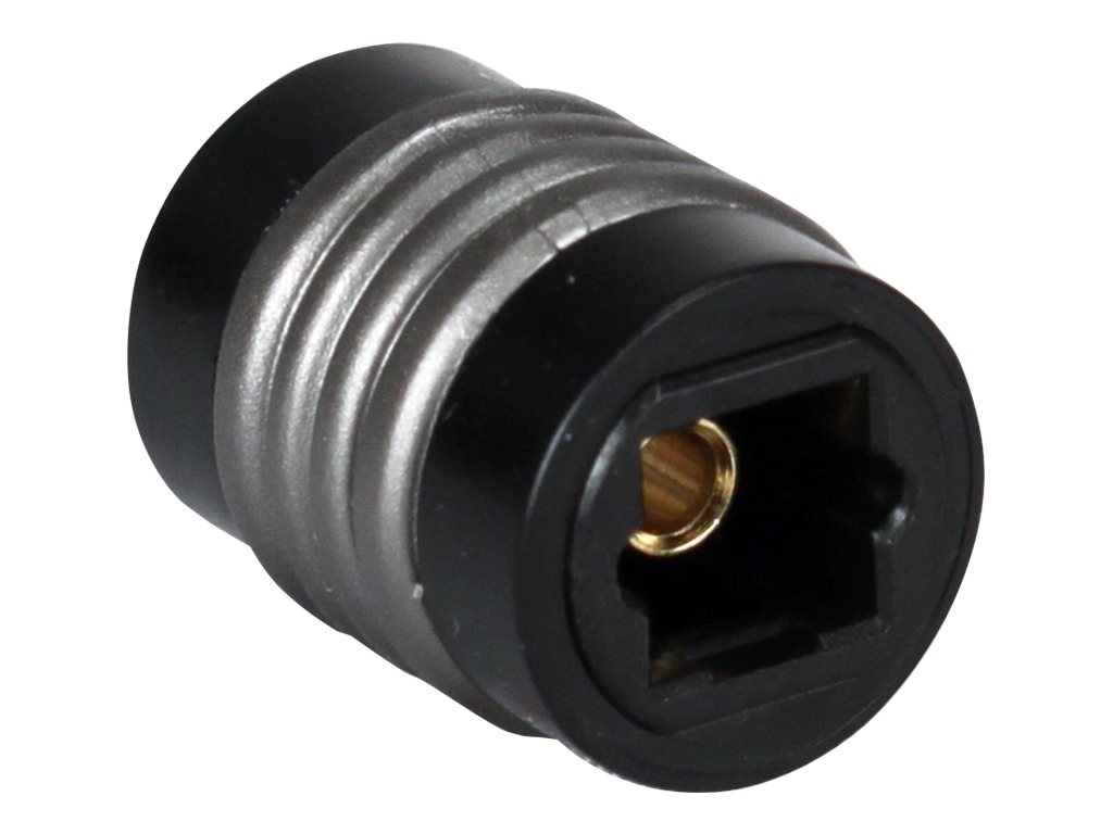 QVS Toslink Female to Female Coupler, FCTK-FF