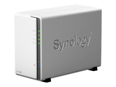 Synology 2 Bay Diskless DiskStation NAS, DS214se, 16435084, Network Attached Storage