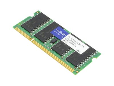 ACP-EP 2GB PC2-4200 200-pin DDR2 SDRAM SODIMM for Select Touchbook Series, CF-WRBA602G-AA