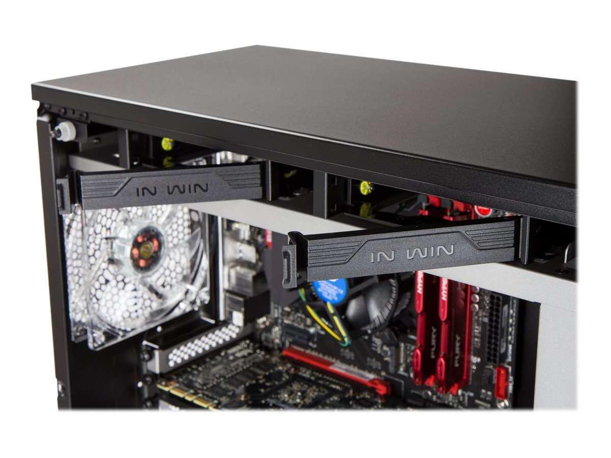 In-win Developement 509 BLACK/RED Image 7