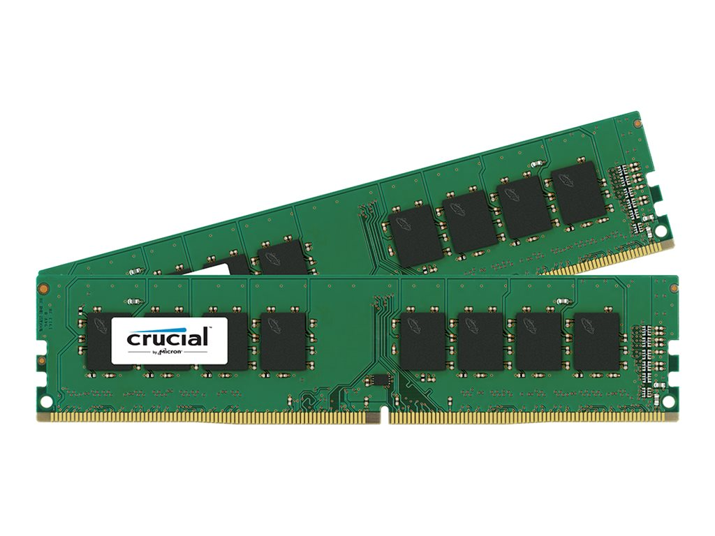 Crucial 32GB PC4-17000 288-pin DDR4 SDRAM DIMM Kit, CT2K16G4DFD8213