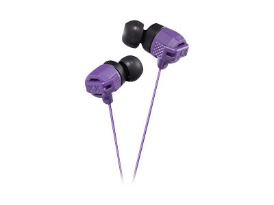 JVC XX Xtreme Bass IE Headphones - Violet, HAFX102V, 18868588, Headphones