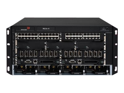 Brocade Communications Systems BR-MLXE-4-S Image 1