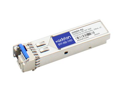ACP-EP 1000BASE-BX SFP SMF LC F HP    PERP1310NMTX 1490NMRX 10KM 100  COMPAT, JD098A-AO, 15431612, Network Transceivers
