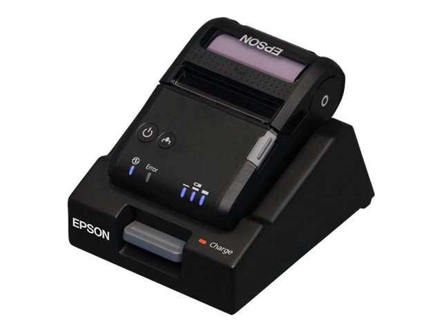 Epson Mobilink P20 BT 2 Mobile Printer w  Battery Base Charger, C31CE14551, 20395556, Printers - POS Receipt