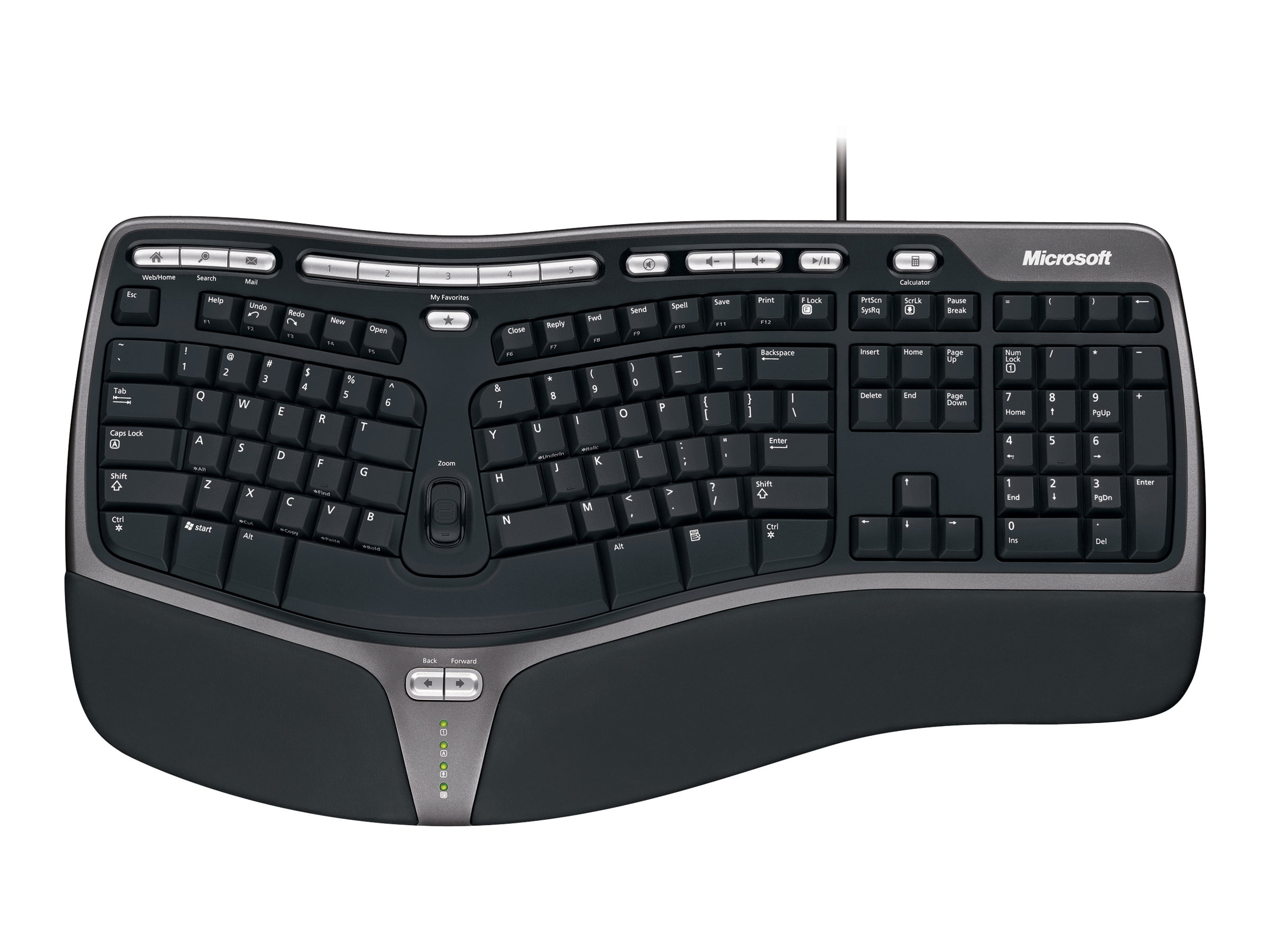 Microsoft Natural Ergonomic Keyboard 4000, B2M-00012