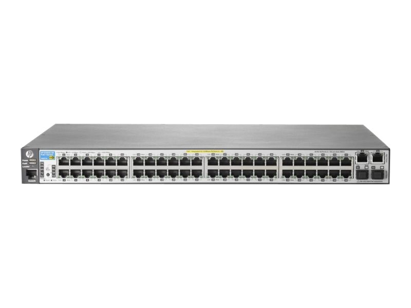 Open Box HPE 2620-48 PoE+ Switch, J9627A#ABA, 14984451, Network Switches