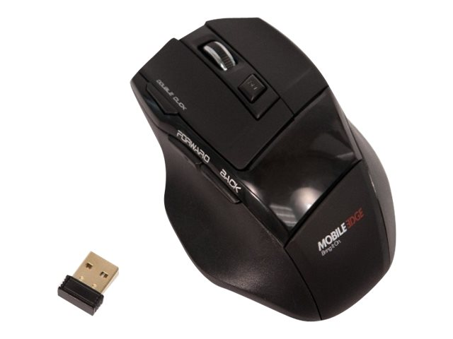 Mobile Edge USB Wireless 7-Button Mouse, MEAM07