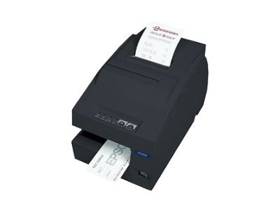 Epson TM-H6000III TransScan USB Serial Printer - Dark Gray w  MICR & Endorser