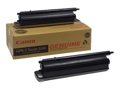 Canon Black GPR-7 Toner Cartridges (2-pack), 6748A003