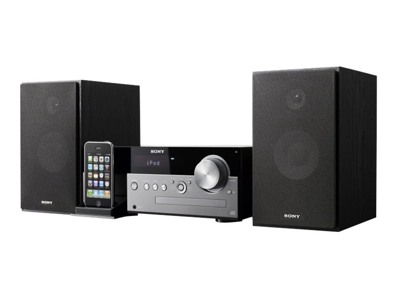Sony Micro Stereo System with iPod Dock, CMTMX500I, 14244401, Personal Stereos