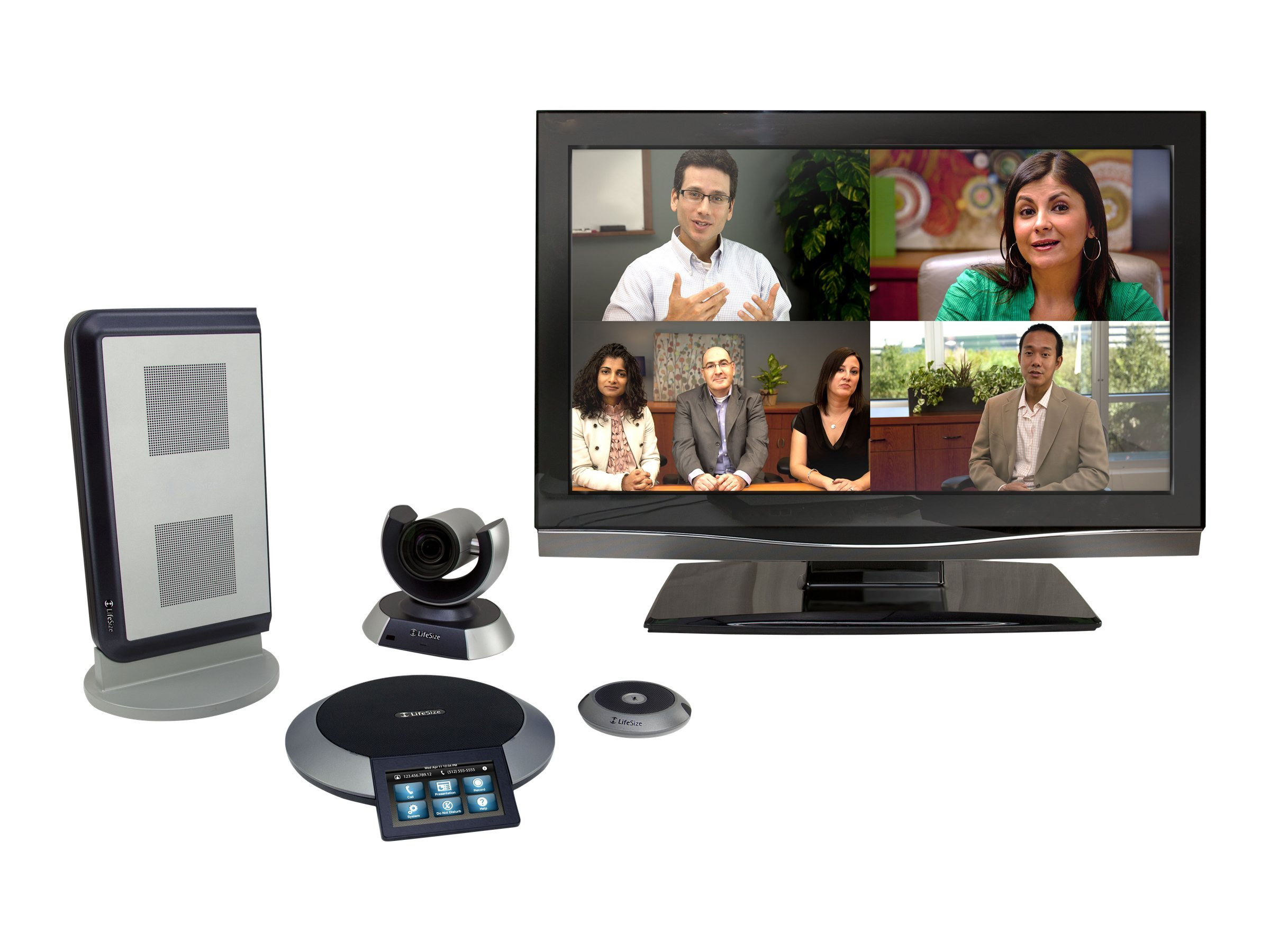 Lifesize Team 220, 10x Camera, Dual MicrPod, 1000-0000-1137, 14465028, Audio/Video Conference Hardware