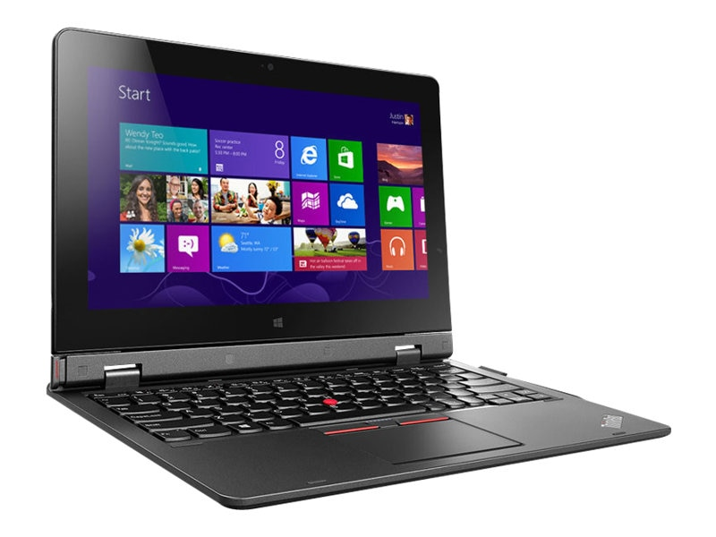 Scratch & Dent Lenovo ThinkPad Helix G2 Core M-5Y71 1.2GHz 8GB 256GB ac BT 4G NFC FR WC Pen 11.6 FHD MT W8.1P64, 20CG005GUS