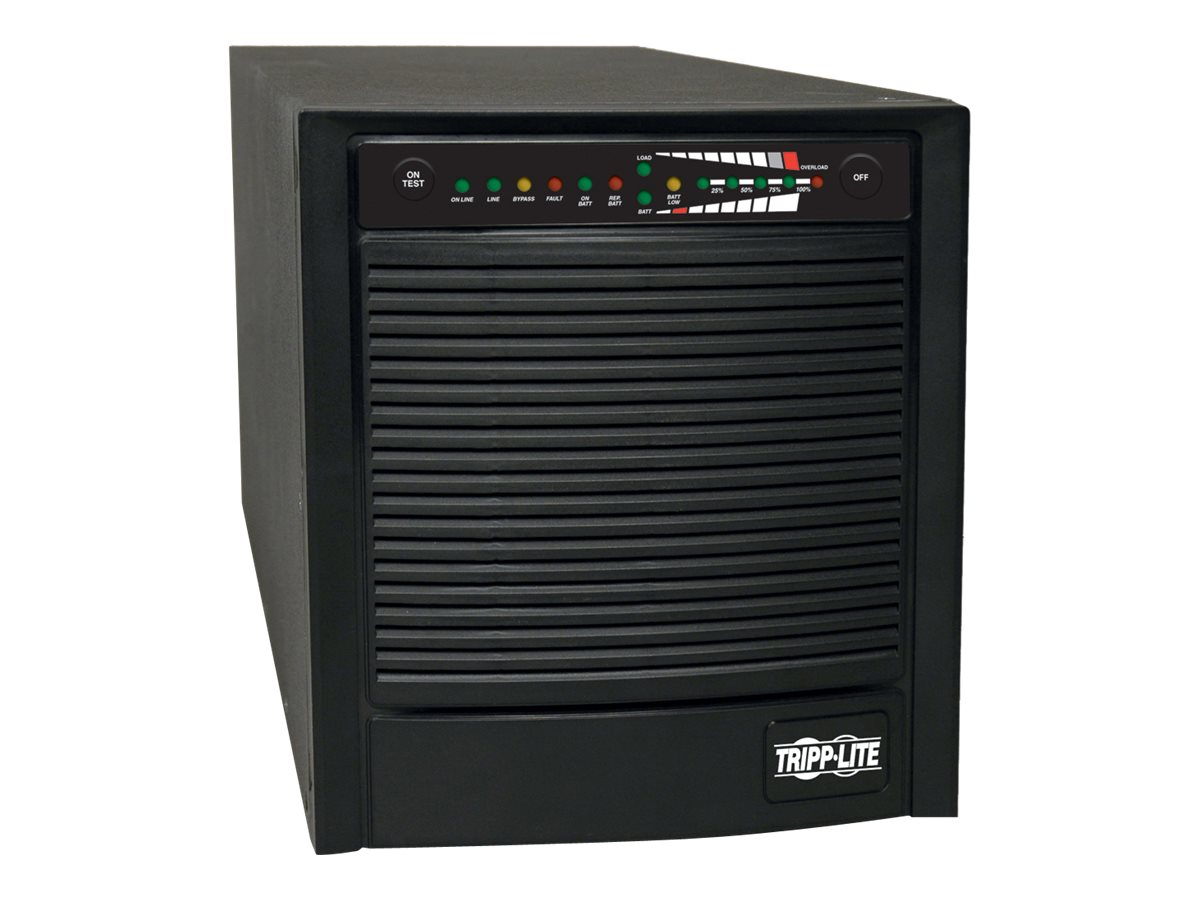 Tripp Lite Smart Pro 1500VA Tower UPS Online (6) Outlets Extended Runtime, Puresine, SU1500XL