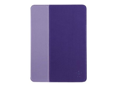 Belkin FormFit Cover for iPad Air, Purple, F7N054B1C02, 17518130, Carrying Cases - Tablets & eReaders