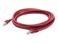 ACP-EP CAT6 STP Snagless Copper Patch Cable, Red, 10m