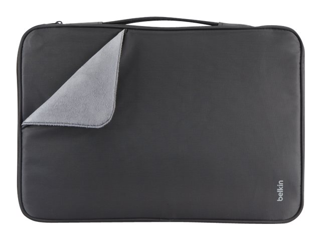 Belkin Slim Travel Sleeve for 15 Ultrabook, Black, B2B071-C00