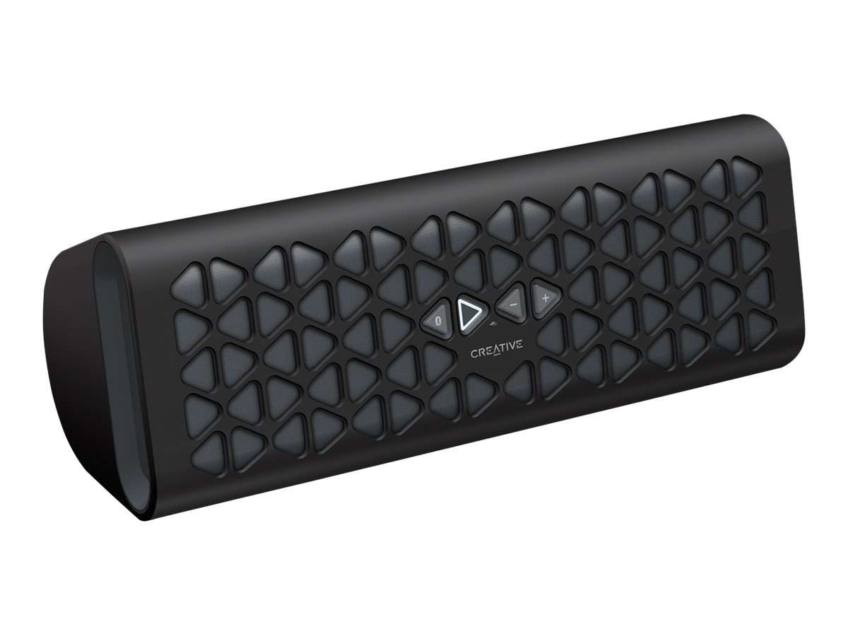 Creative Labs Muvo 20 BT Speaker - Black, 51MF8185AA000, 31364309, Speakers - Audio