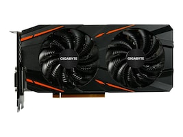 Gigabyte Tech Radeon RX 480 PCIe 3.0 x16 Graphics Card, 8GB GDDR5, GV-RX480G1 GAMING-8GD, 32491633, Graphics/Video Accelerators