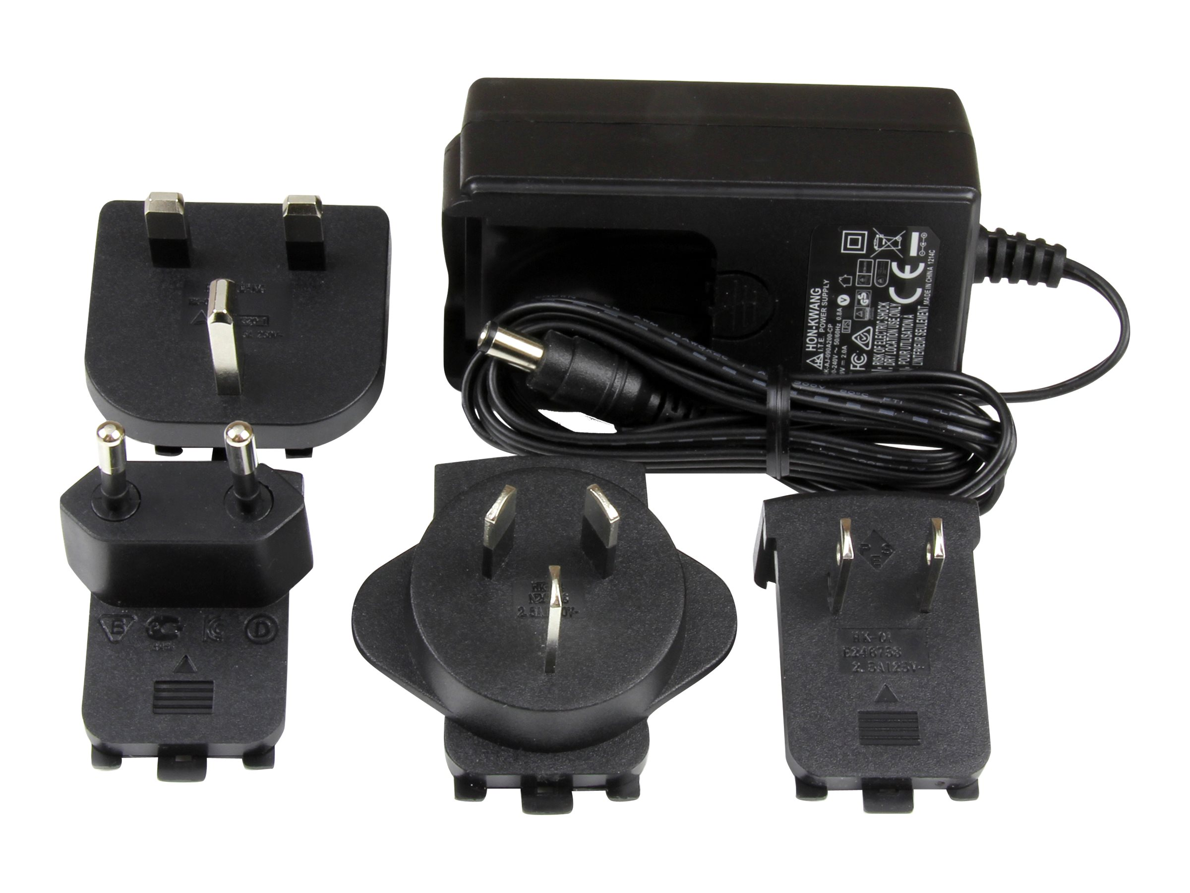 StarTech.com DC Power Adapter 9V, 2A