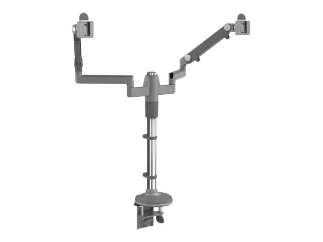 Humanscale Mflex M2 for Dual Monitors, Clamp Mount, MF22S22C18, 28347284, Stands & Mounts - AV