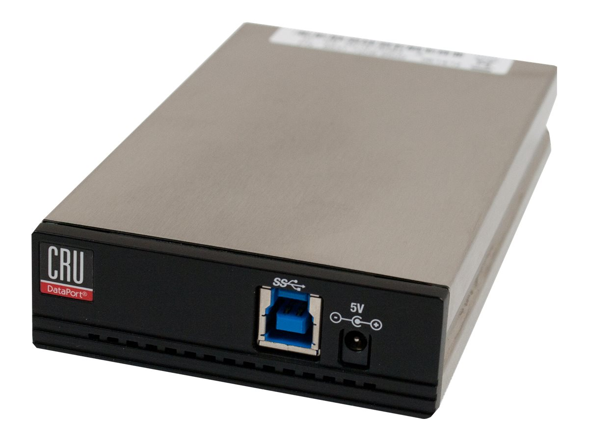 CRU DP25 SATA 6Gb s Carrier w  USB 3.0, 8531-6709-9500