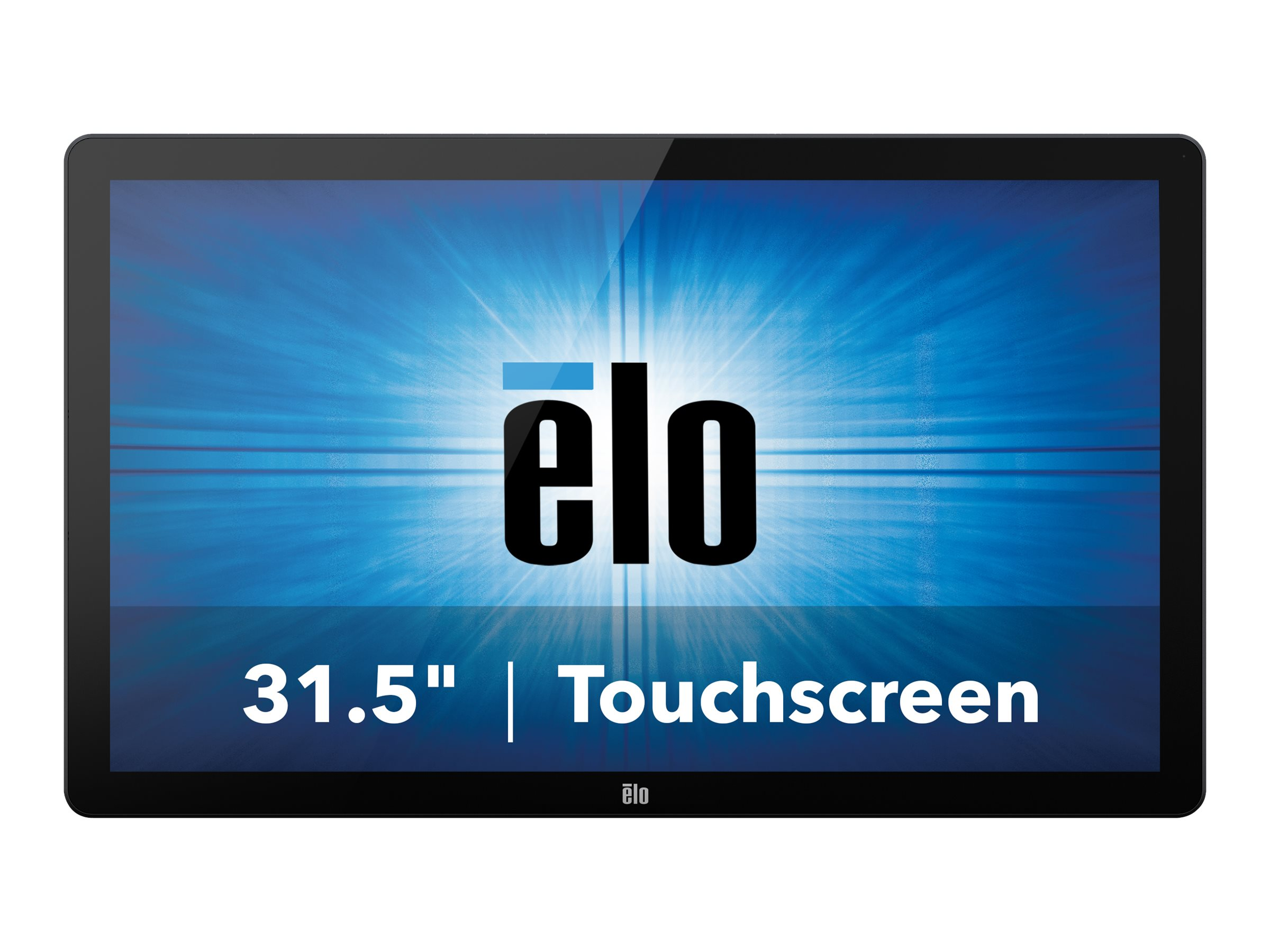 ELO Touch Solutions 3202L 32-inch Widescreen LCD TOUCH VGA HDMI Monitor DP Projected CAP USB, Clear Gray