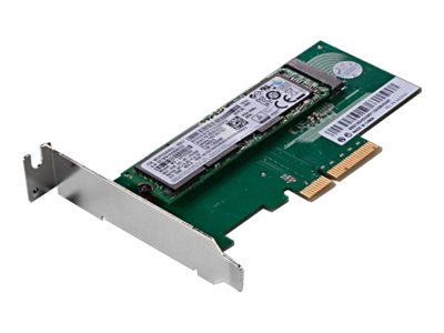 Lenovo ThinkStation M.2 Solid State Drive Adapter - Low Profile, 4XH0L08579