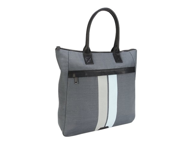 Targus 15.6 Geo Tote Bag, Gray Black, TLT62904, 17402727, Carrying Cases - Other