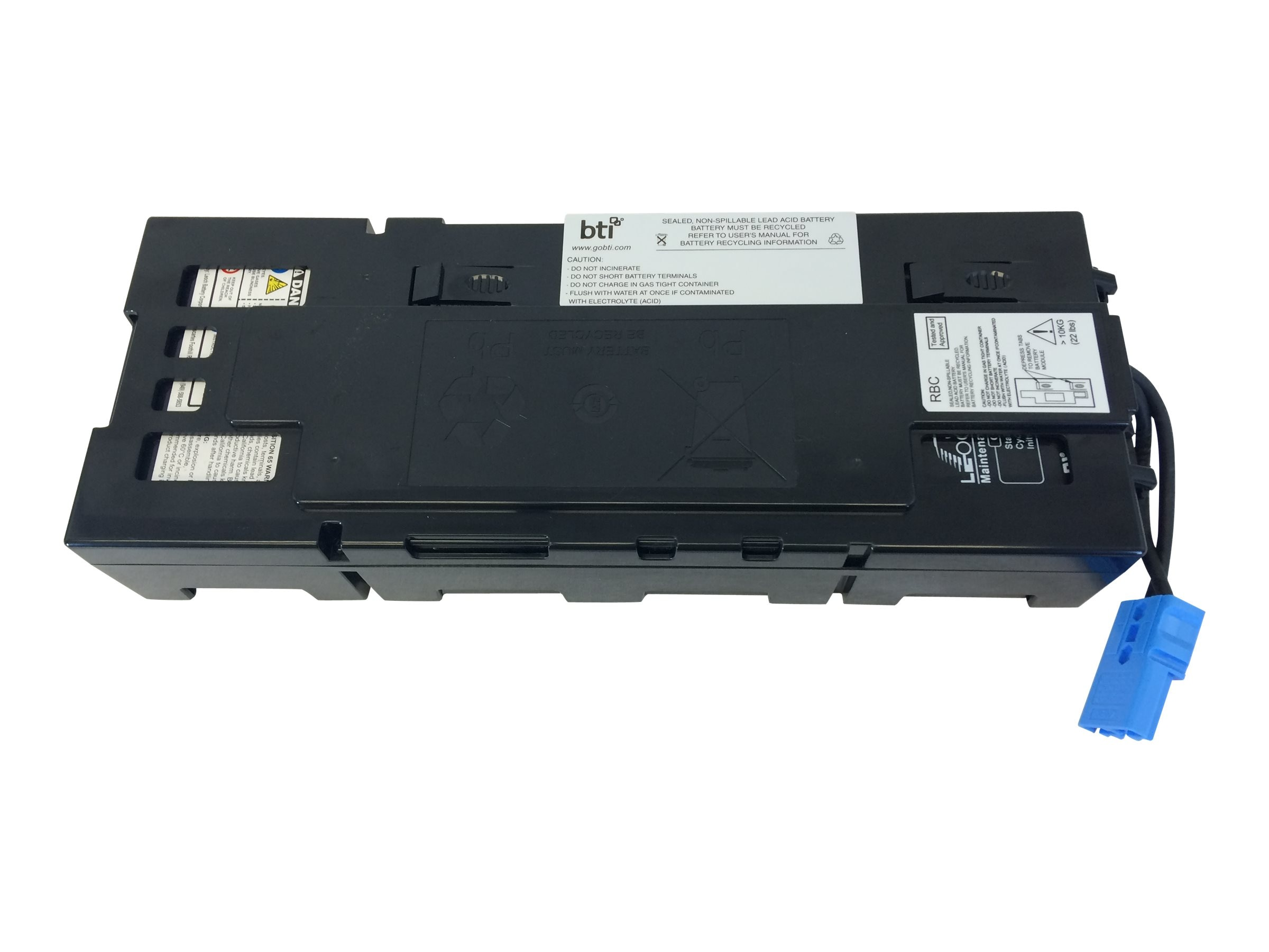 BTI RBC116 APC UPS Replacement Battery BATTSMX750 SMX1000 APCRBC116, APCRBC116-SLA116