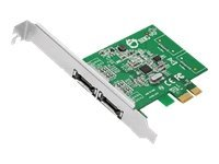Siig 2-Channel PCI SATA 6Gb s Dual Profile Controller, SC-SA0M11-S1, 13517691, Storage Controllers