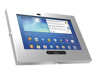 Compulocks Galaxy Tab 3 Wall Mountable Enclosure Kiosk, Silver, 300GES