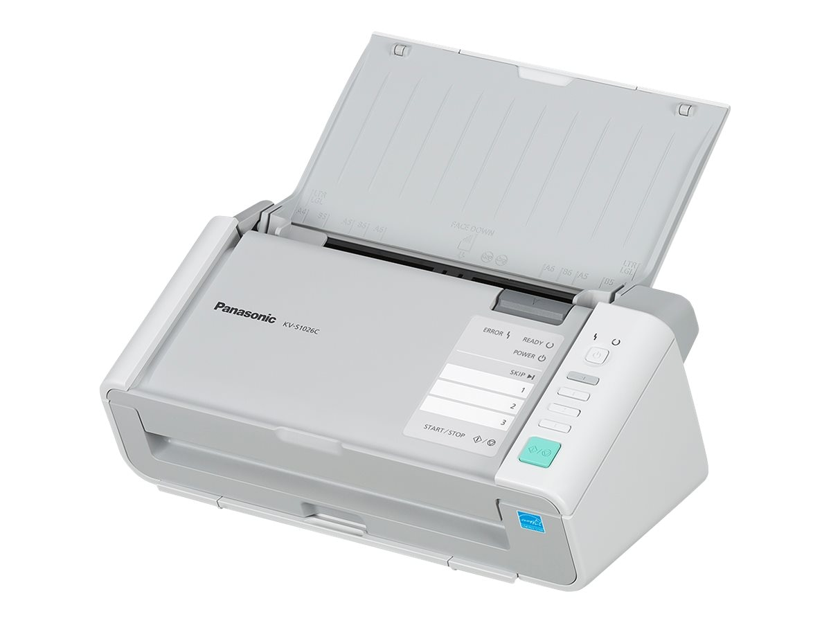 Panasonic KV-S1026C Duplex Sheetfed 20ppm 40ipm 600dpi USB 2.0 1-year Neat Business Cloud, KV-S1026C-NT