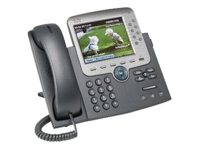 Cisco Unified IP Phone 7975G SCCP, SIP with 1 User License, CP-7975G-CH1, 8173512, VoIP Phones